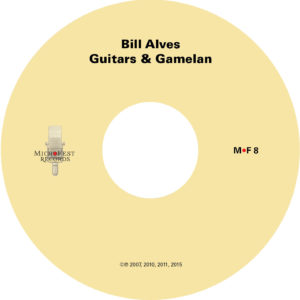 Alves Guitars & Gamelan disc